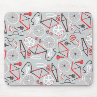 Bicycle Pattern Mouse Mat