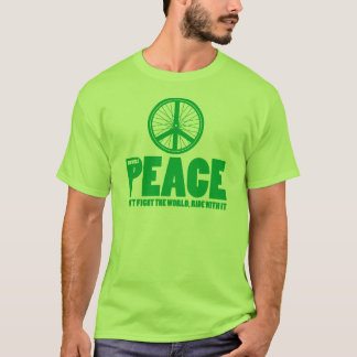 Bicycle peace t shirt