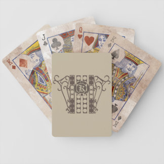 Bicycle Playing Cards IRONWORK SCROLLWORK 2