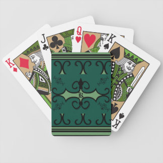 Bicycle Playing Cards IRONWORK SCROLLWORK 3