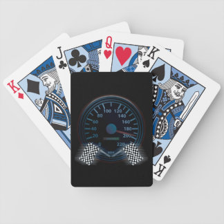 Bicycle Playing Cards SPEEDOMETER FINISH FLAG