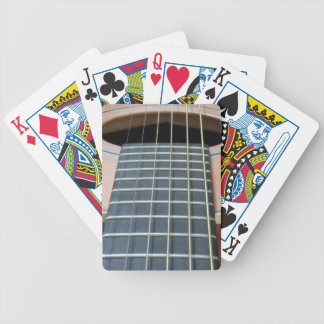 Bicycle Playing Cards with Guitar Image