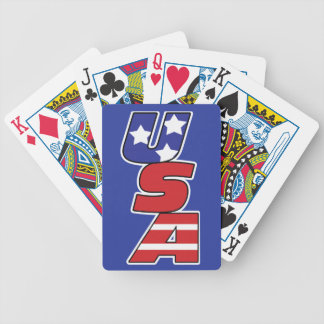 Bicycle Playing Cards with USA Logo Bicycle Playing Cards