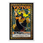 Bicycle Poster:  Victor Bicycles - William Bradley
