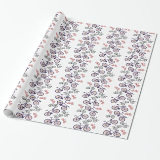 Bicycle Print Design Gifts Wrapping Paper