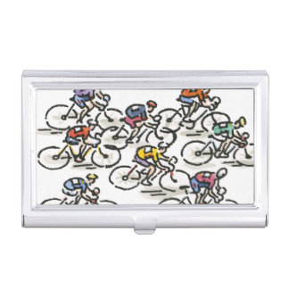 Bicycle Race Business Card Holder