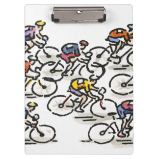 Bicycle Race Clipboard