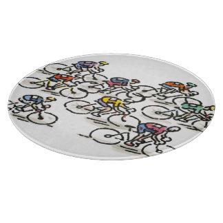 Bicycle Race Cutting Board