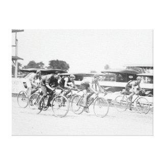 Bicycle Race in Washington DC Photograph Canvas Print