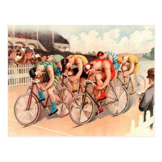 Bicycle Race Postcard