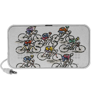 Bicycle Race Speaker System