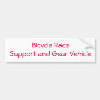 bicycle race sticker bumper sticker