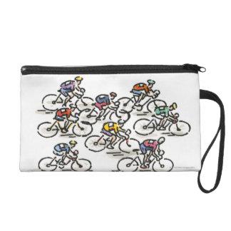 Bicycle Race Wristlet