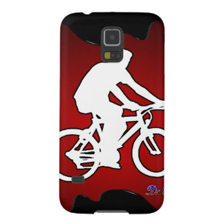 BICYCLE  RED BACKGROUND PRODUCTS GALAXY NEXUS CASES