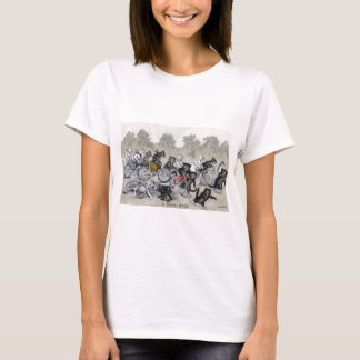 Bicycle Riding Cats T-Shirt