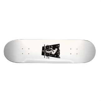 Bicycle Riding Skate Deck