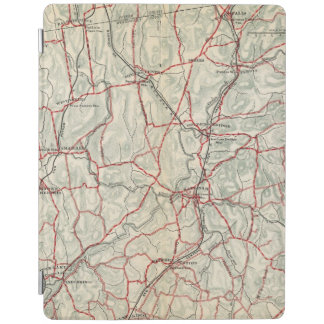 Bicycle Roads in New York and Conneticut 12 iPad Cover