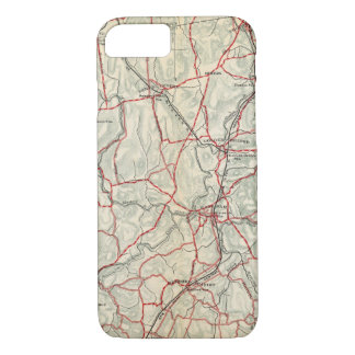 Bicycle Roads in New York and Conneticut 12 iPhone 8/7 Case