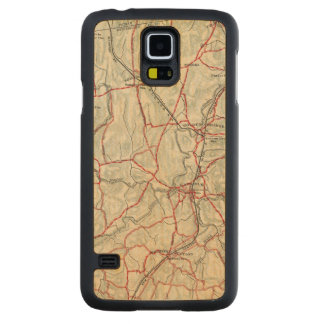 Bicycle Roads in New York and Conneticut 12 Maple Galaxy S5 Slim Case