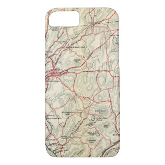 Bicycle Roads in New York and Conneticut 2 iPhone 8/7 Case