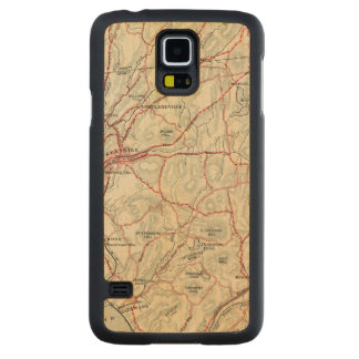 Bicycle Roads in New York and Conneticut 2 Maple Galaxy S5 Case
