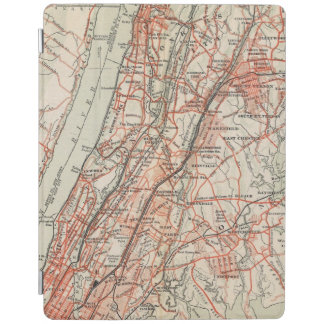 Bicycle Roads in New York and Conneticut 3 iPad Cover