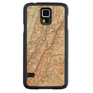 Bicycle Roads in New York and Conneticut 3 Maple Galaxy S5 Slim Case