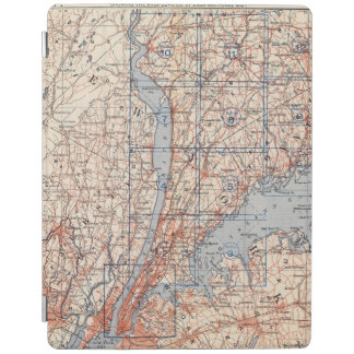 Bicycle Roads in New York and Conneticut 4 2 iPad Cover