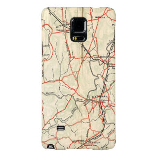 Bicycle Roads in New York and Conneticut 4 Galaxy Note 4 Case