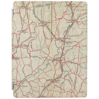 Bicycle Roads in New York and Conneticut 4 iPad Cover