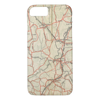 Bicycle Roads in New York and Conneticut 4 iPhone 8/7 Case