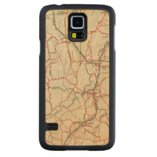Bicycle Roads in New York and Conneticut 4 Maple Galaxy S5 Case