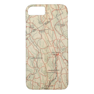 Bicycle Roads in New York and Conneticut 5 iPhone 8/7 Case