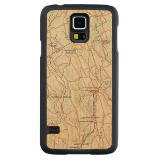 Bicycle Roads in New York and Conneticut 5 Maple Galaxy S5 Slim Case