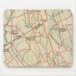 Bicycle Roads in New York and Conneticut 5 Mouse Mat