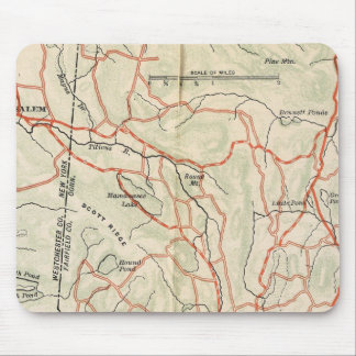 Bicycle Roads in New York and Conneticut 7 Mouse Mat