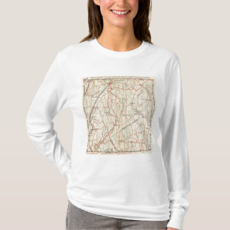 Bicycle Roads in New York and Conneticut 8 T-Shirt
