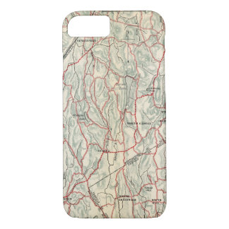 Bicycle Roads in New York and Conneticut iPhone 8/7 Case