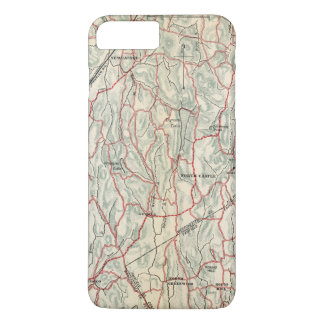 Bicycle Roads in New York and Conneticut iPhone 8 Plus/7 Plus Case
