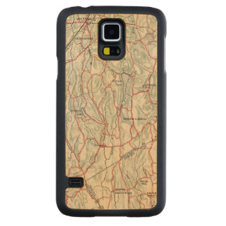 Bicycle Roads in New York and Conneticut Maple Galaxy S5 Case