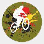 Bicycle Round Sticker