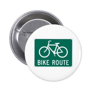 Bicycle Route Sign Button