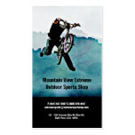 Bicycle Shop or Outdoor Sports Store Pack Of Standard Business Cards