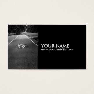 Bicycle Sign Business cards 1