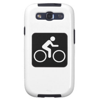 Bicycle Sign Galaxy SIII Cases
