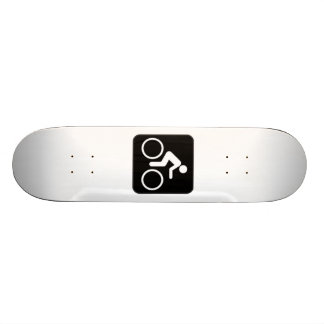Bicycle Sign Skate Board Decks