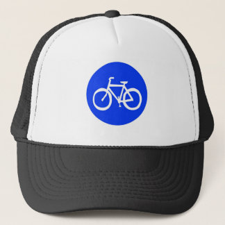 Bicycle Sign Trucker Hat
