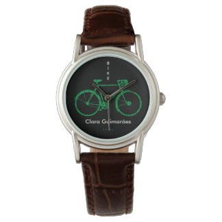 Bicycle sports personalized with Name Watch