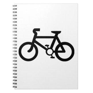 Bicycle Symbol Notebook