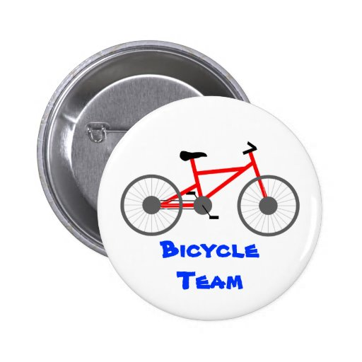Bicycle Team Button Template